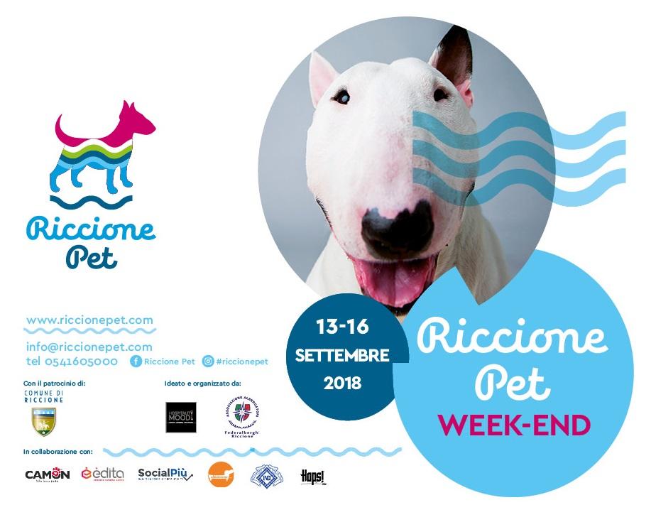 RICCIONE PET WEEK-END 13-16 Settembre 2018