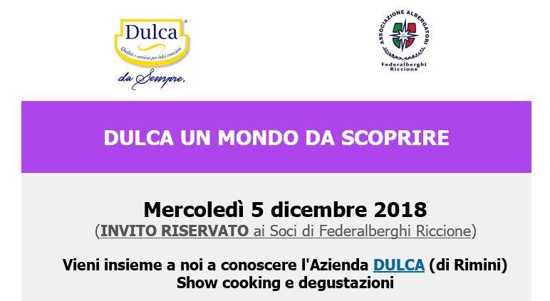 VISITA all'Azienda DULCA – Invito Riservato ai Soci