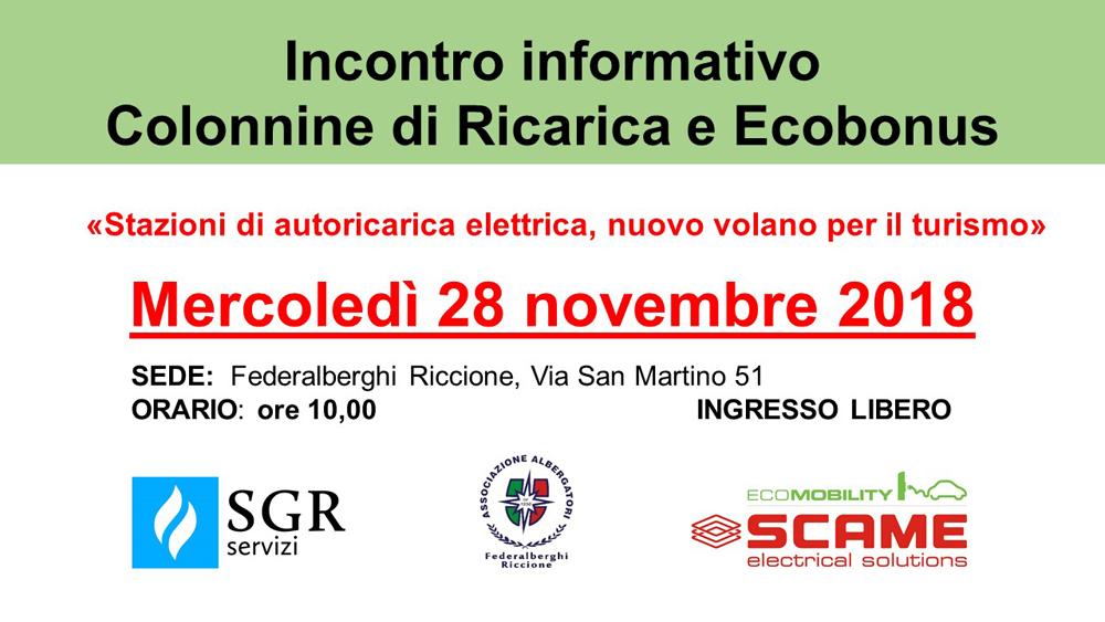 Incontro informativo – Colonnine di Ricarica e Ecobonus