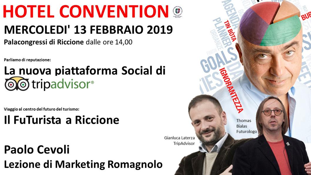Protetto HOTEL CONVENTION – 13 febbraio 2019 (ore 14,00)