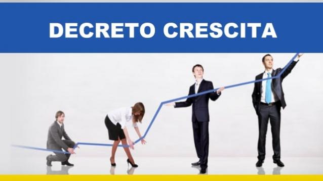 Protetto Misure urgenti di crescita economica e per la risoluzione di specifiche situazioni di crisi