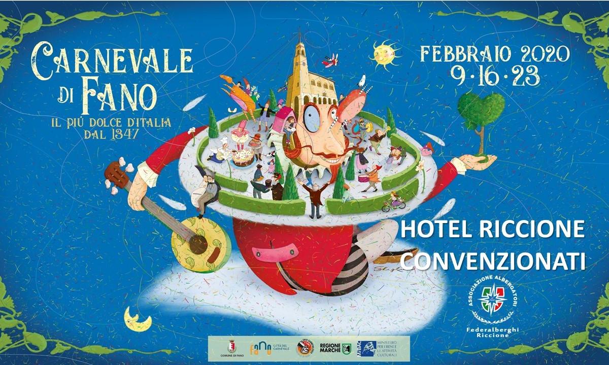 Carnevale di Fano: Hotel di Riccione convenzionati
