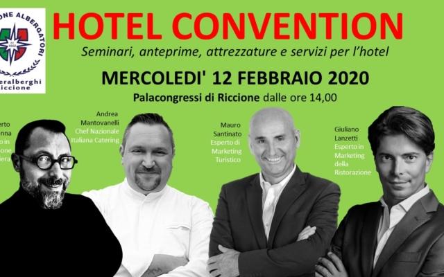 Hotel Convention 2020 (Mercoledì 12 Febbraio)