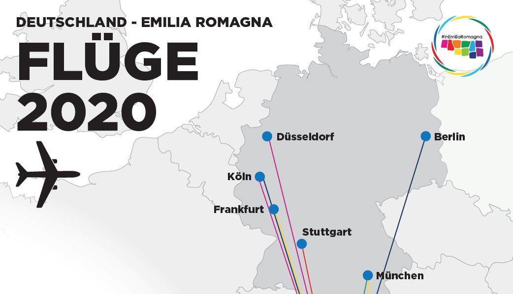 COLLEGAMENTI GERMANIA 2020 aerei /ferroviari sulla Riviera