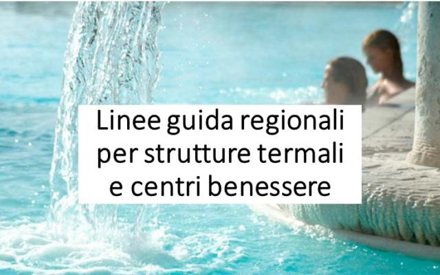 Protetto: Linee guida regionali per strutture termali e centri benessere
