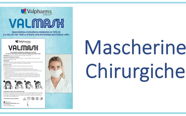 Mascherine Chirurgiche – in convenzione per gli associati (a partire da 40 centesimi cadauna)