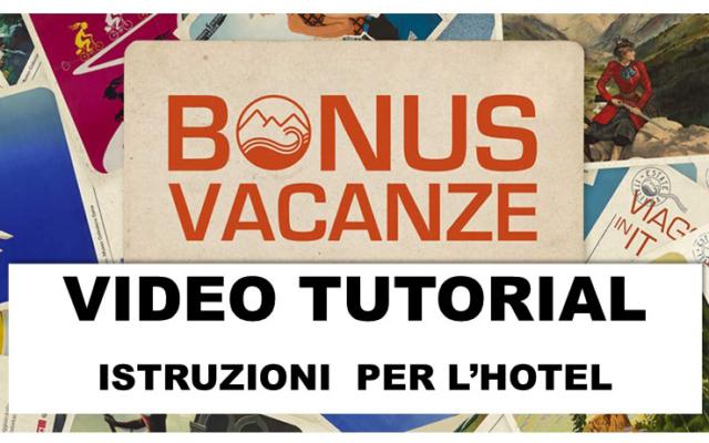 Protetto BONUS VACANZE – Video Tutorial, Istruzioni operative, Aziende che aderiscono alla Cessione Credito d'Imposta