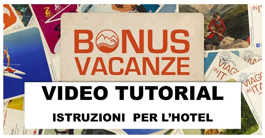 Protetto BONUS VACANZE – Video Tutorial e Istruzioni operative