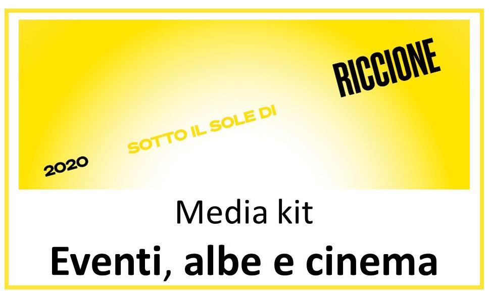 Sotto il sole di Riccione – Media Kit: Eventi, albe e cinema (di LUGLIO 2020)