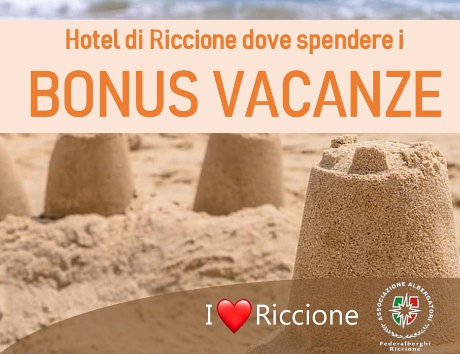 Hotel di Riccione dove spendere i BONUS VACANZE