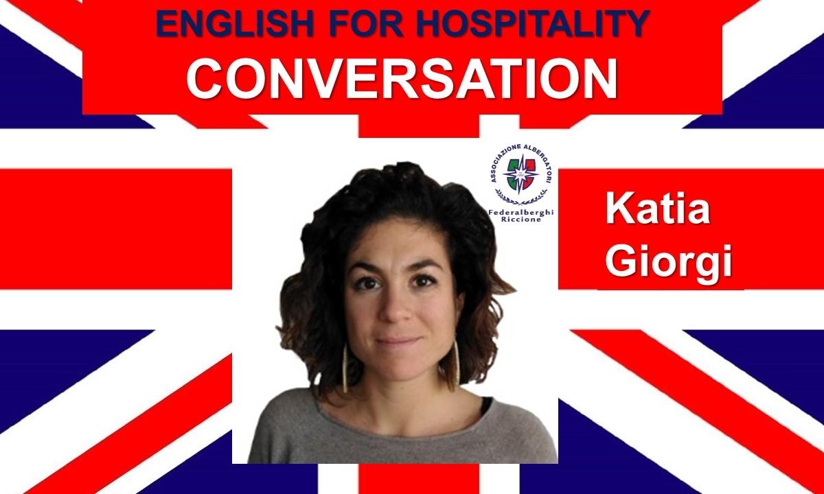 ENGLISH FOR HOSPITALITY- CONVERSATION (livello intermedio)