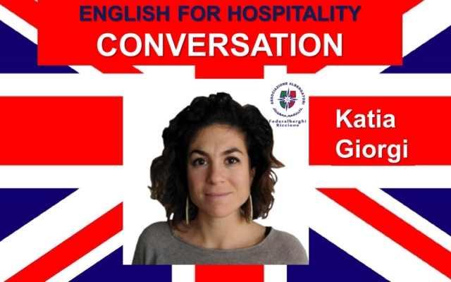 ENGLISH FOR HOSPITALITY- CONVERSATION (livello intermedio)