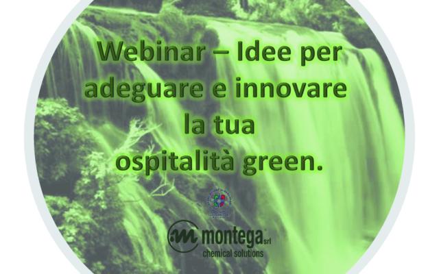 WEBINAR – Idee per adeguare e innovare la tua ospitalità green