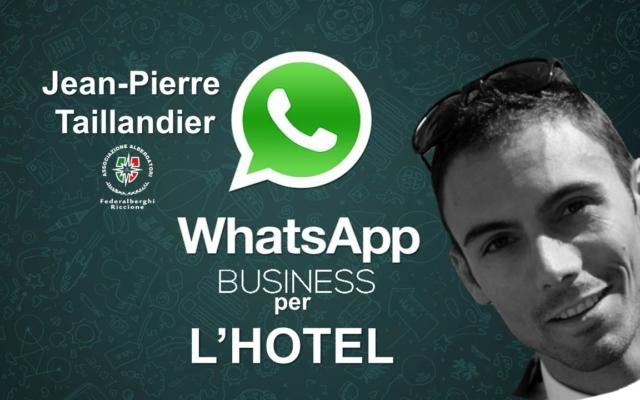 WHATSAPP BUSINESS PER L'HOTEL