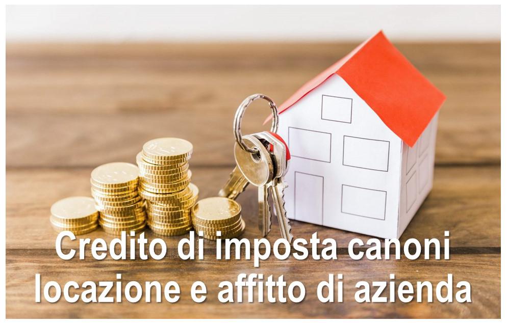 Protetto Credito di imposta canoni locazione e affitto di azienda – perdita di fatturato – Risposta ad interpello dell'Agenzia delle entrate n. 186 del 17 marzo 2021