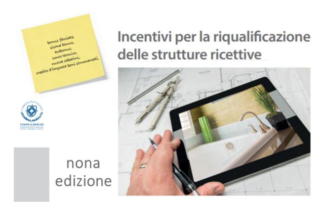 Protetto Manuale sugli incentivi per la riqualificazione delle strutture ricettive – nona edizione marzo 2021
