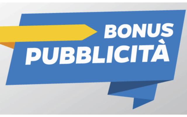 """Protetto LA PRENOTAZIONE DEL """"BONUS PUBBLICITÀ"""" 2021"""